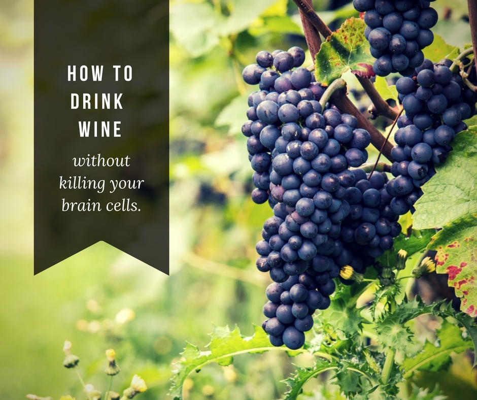 Drink wine brain health