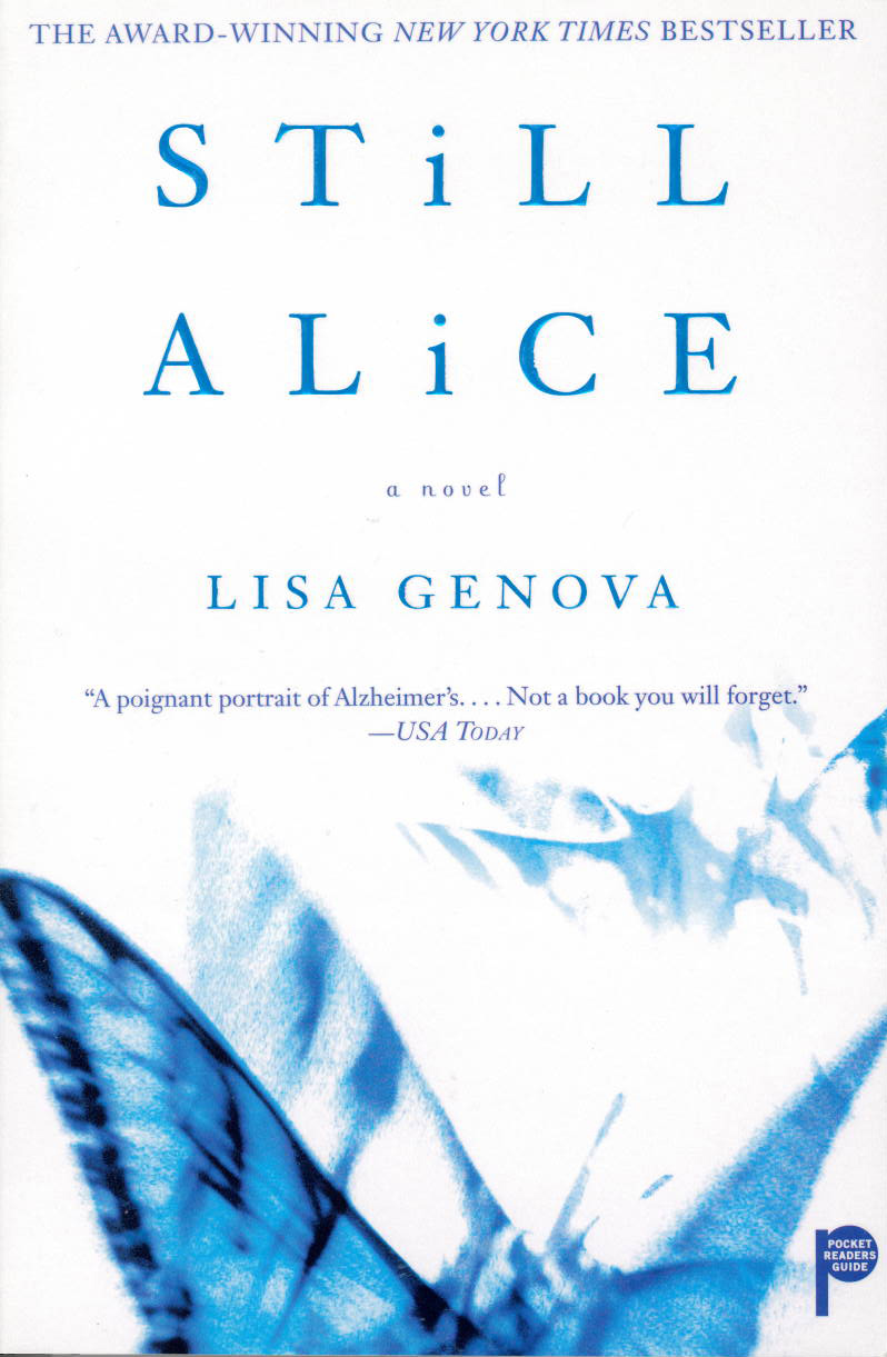 Still Alice a novel by Lisa Genova - July Walking Book Club