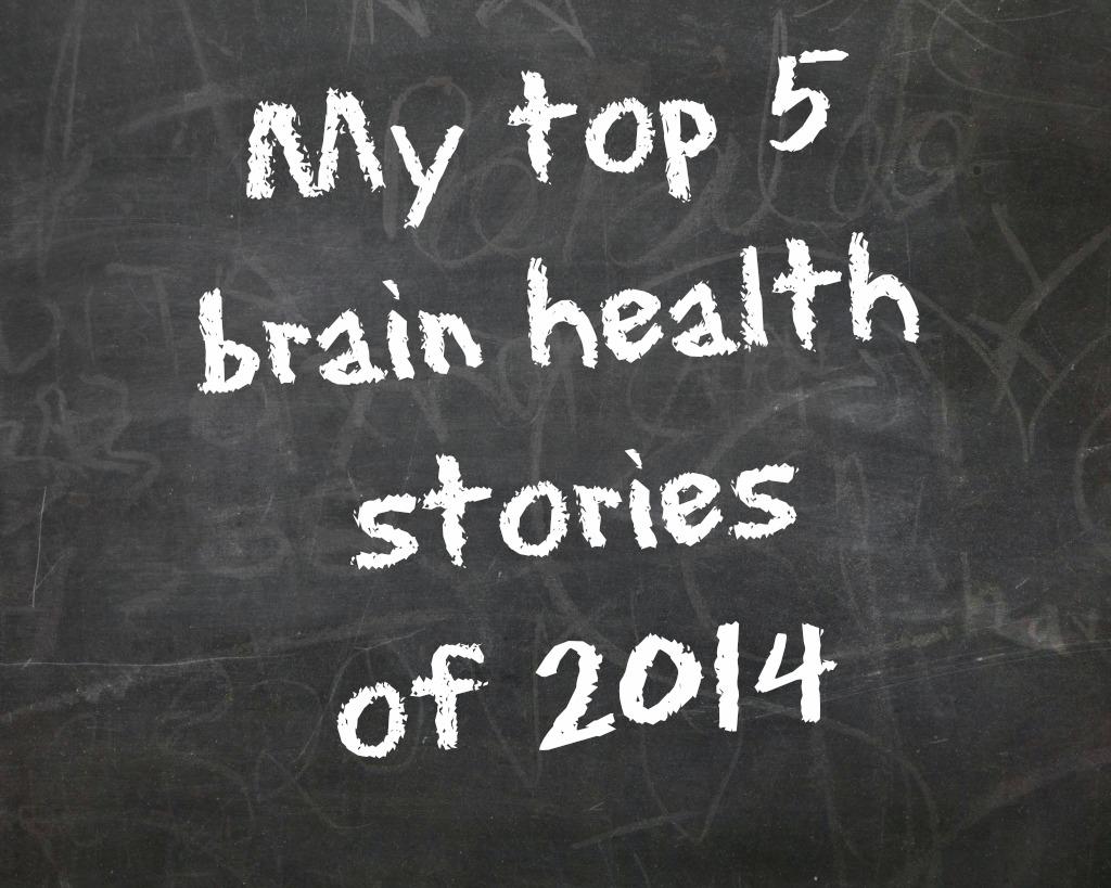 brain health chalkboard
