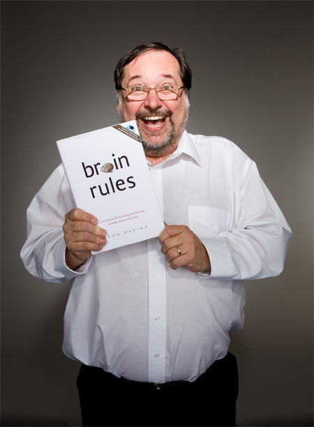 John Medina Brain Rules Walking Book Club