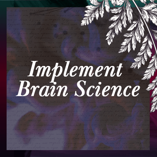 Icon - Implement brain science