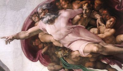 Michelangelo's Creation of Adam Anatomy of the Brain